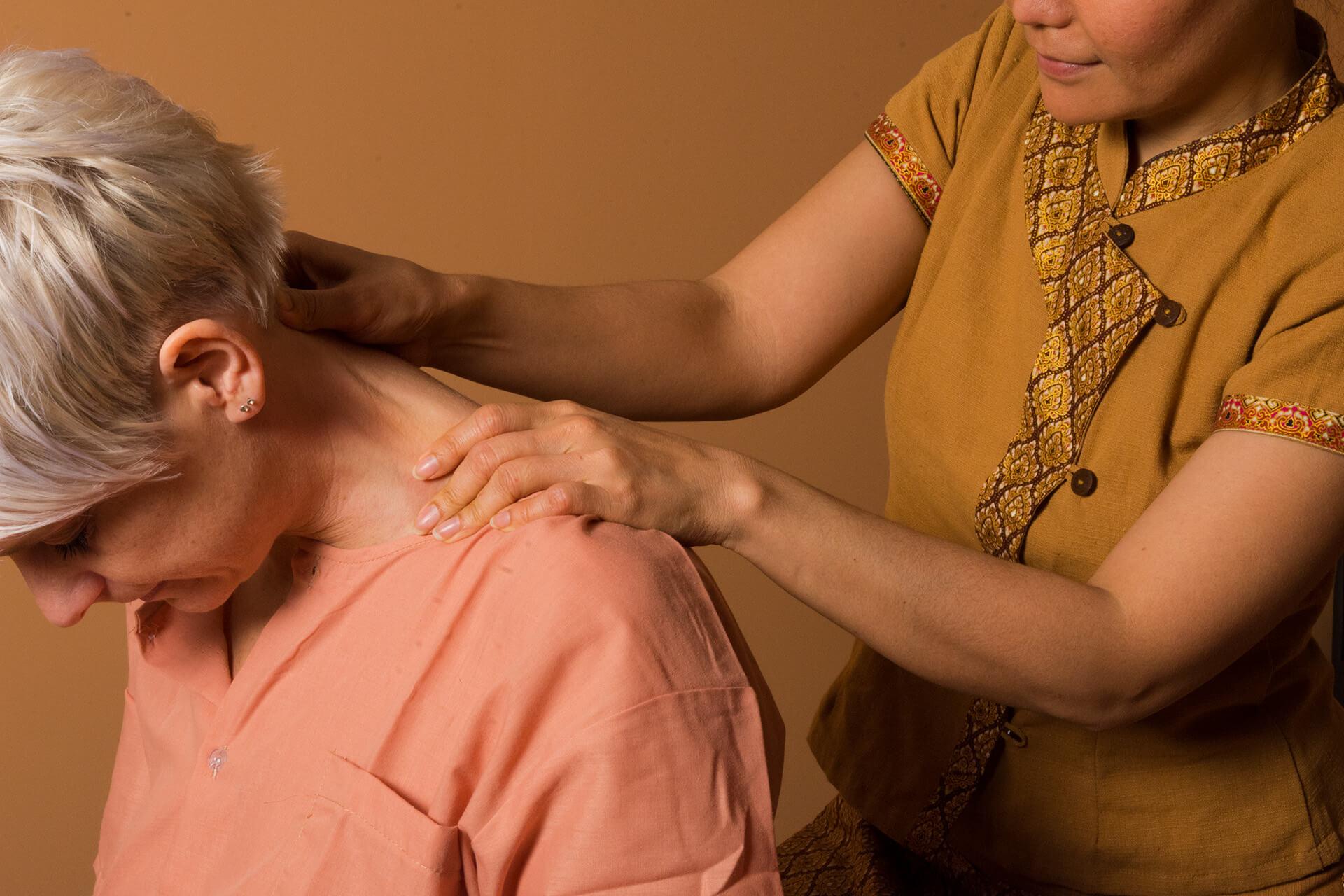 Detail Thai-Massage